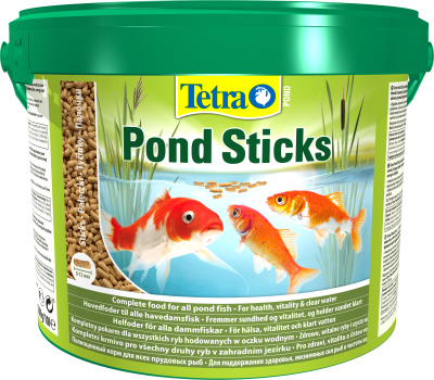 Основной корм для прудовых рыб Tetra Pond Sticks в палочках 10 л