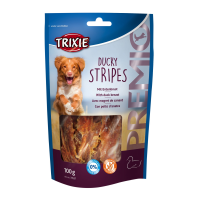 Лакомство для собак Trixie Premio Ducky Stripes утка 100 г
