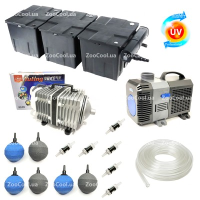 Набор для пруда SunSun Set CBF350С Full-UV36w до 90 000 л.