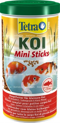 Корм для мальков кои Tetra Pond KOI Mini Sticks в палочках 1 л